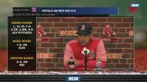 Alex Cora Discusses Red Sox Struggles With Runners In Scoring Position