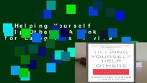 Helping Yourself Help Others: A Book for Caregivers  Review