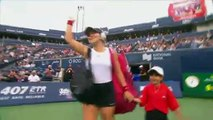 Bianca Andreescu defeats Eugenie Bouchard at Rogers Cup