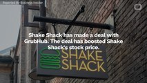 Shake Shack Makes Deal With GrubHub