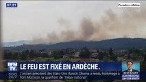 Les incendies en Ardèche ne progressent plus, 90 hectares ont été brûlés