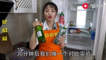 【Two wet wipes to cool the beer quickly】两张湿纸巾就可以快速冰镇啤酒,现场实验演示,效果真的非常好