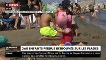 Lors du mois de juillet, 360 enfants se sont perdus sur les plages de Marseille, soit autant qu'en été 2018 ! - VIDEO