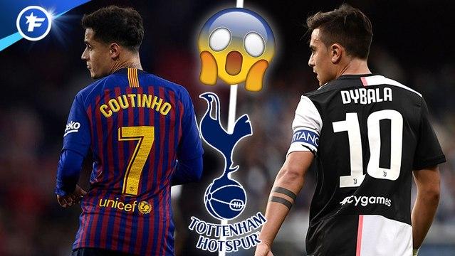 Le double coup incroyable de Tottenham sur le mercato impressionne l'Europe, la Juve passe la seconde pour Paul Pogba