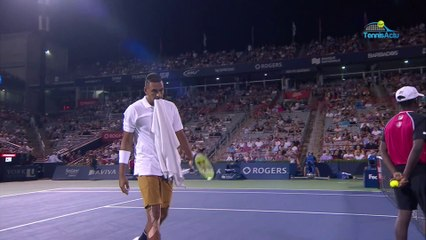 "ATP - Montréal 2019 - When Nick Kyrgios wants all-white towels: ""The towels were ok"""