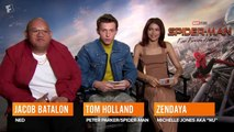 Tom Holland & Zendaya's Date Scenes Were Difficult to Shoot  'Spider-Man Far From Home' Interview