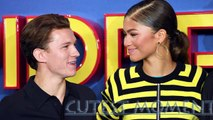 Tom Holland and Zendaya - Cutest Moments  Tom accepted Zendaya as his crush