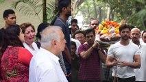 Hrithik Roshan CRIES on his grandfather J Om Prakash passes away; Watch Video | FilmiBeat