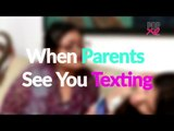 Things Your Parents Say When You Are Messaging Someone - POPxo Comedy