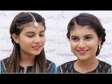 Indian Festive Hairstyles Tutorial | Hairstyles For Garba Night - POPxo