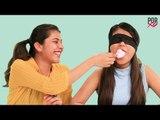 Whats In My Mouth Challenge ,  Cherry & Rajeshwari Take On The Whats In My Mouth Challenge - POPxo