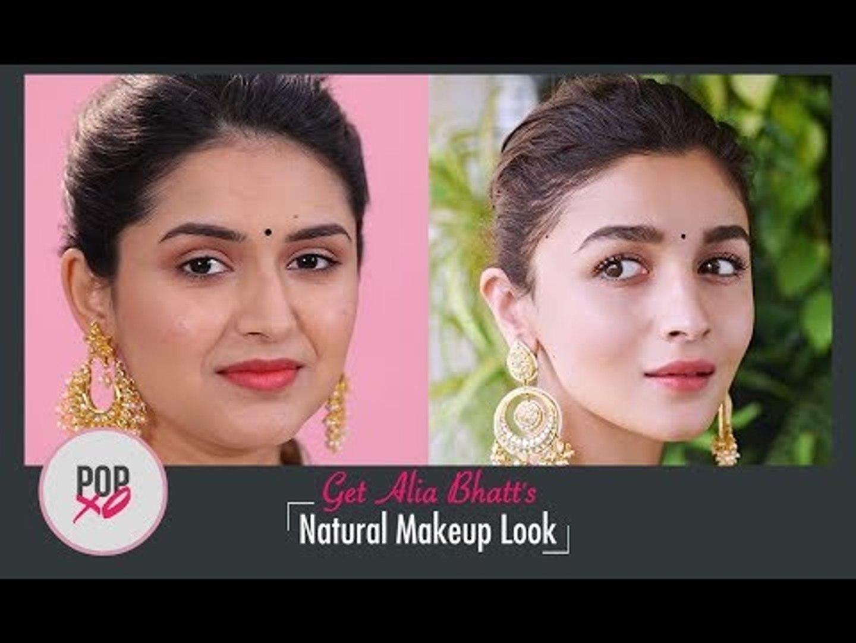 Get Alia Bhatt S Natural Makeup Look Popxo Video Dailymotion