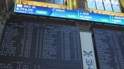 El Ibex 35 abre con avances del 0,52% y recupera los 8.700