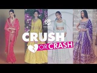 Crush Or Crash: Akash Ambani and Shloka Mehta's Wedding - Episode 68 - POPxo Fashion