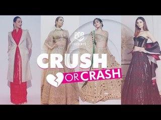 Crush Or Crash: Akash Ambani and Shloka Mehta's Reception - Episode 69 - POPxo Fashion