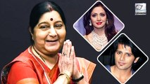 Times When Sushma Swaraj Helped Bollywood Celebrities