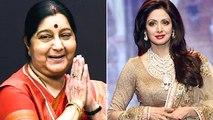 Times When Sushma Swaraj Rescued Bollywood Celebs