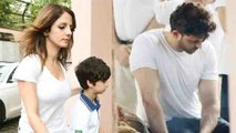 Hrithik Roshan's ex-wife Sussanne Khan & his kids pay last respects to J Om Prakash | FilmiBeat