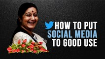Sushma Swaraj No More: Her Tweets Taught Us How To Put Social Media To Good Use