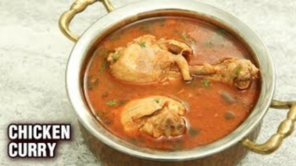 Simple Chicken Curry Recipe - Make Chicken Curry In Less Than 15 Minutes! - Tarika Singh