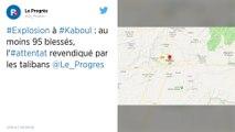 Afghanistan : Au moins 95 blessés dans l'explosion d'une voiture piégée à Kaboul