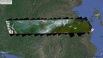 Dos meses después Siberia sigue ardiendo en gigantescos incendios visibles desde el espacio