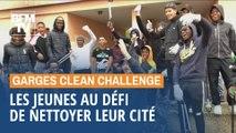Garges clean challenge: les jeunes se mettent au défi de nettoyer leur cité #MaCitéVaBriller