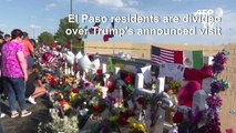 El Paso residents divided over Trump visit after shooting