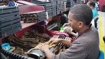 La fabrication des cigares en République dominicaine
