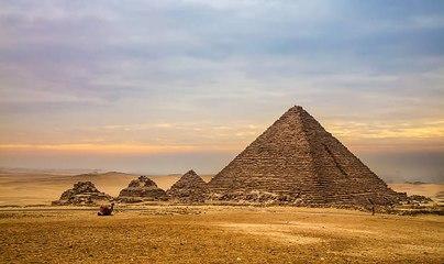 El secreto de la construcción de las pirámides de Egipto