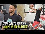 Steph Curry HOOPIN vs TOP High School Players - Starts DUNKING- 7 Footer SAUCES UP Steph-