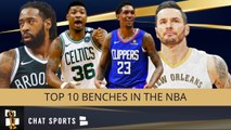 The Top 10 Bench Units In The NBA For The 2019-20 Regular Season