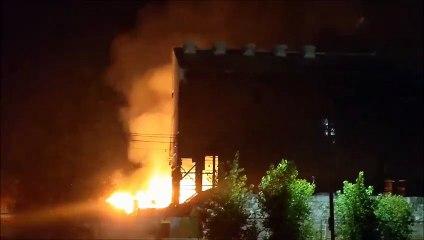 Incendie à Beauharnois