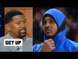 Jalen Rose explains why Carmelo Anthony isn't an 11th man on an NBA team - Get Up