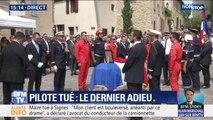 Les obsèques de Franck Chesneau, le pilote tué à Générac se sont déroulées à Cornillon ce mercredi