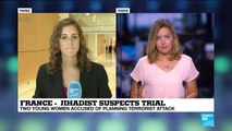 Two young women accused of planning terrorist attack found guilty