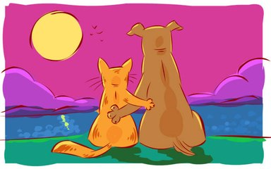 How to Make Sure Cats and Dogs Get Along in 6 Tricks