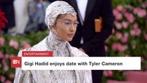 Bachelorette Contestant Tyler Cameron Gets A Date With A Supermodel