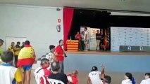 Impiden a un piragüista sevillano recoger su medalla en Zaragoza por llevar la bandera de España