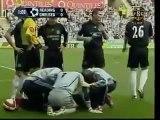 La collision terrible de Petr Cech contre Reading