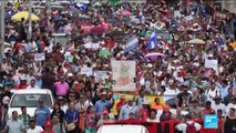 Honduran protesters call for president to resign in wake of drug money accusations