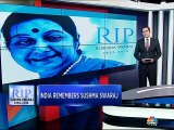 India remembers Sushma Swaraj: Here's a look at her life's journey