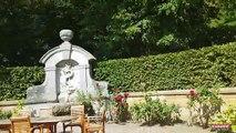 ANJOU /nord isère  Les jardins enchanteurs du château