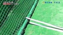 Un samourai coupe une balle de baseball lancée à 161km/h