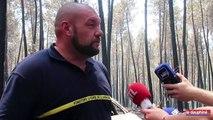 « Le véhicule s'est retrouvé coincé par les flammes »