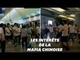 À Hong Kong, quel est le rôle des triades dans les manifestations ?