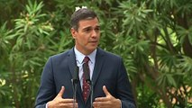 Sánchez coincide con el Rey en que no debe haber otras elecciones