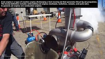 Mini Jet Engine Go Karts Starting Up and Sound Must be Reviewed