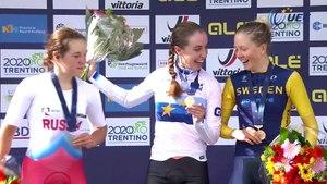 #EuroRoad19 - Highlights Women Junior Time Trial, Women Junior Time Trial amd Mixed Relay
