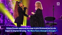 Ariana Grande Performs Surprise Duet with Barbra Streisand